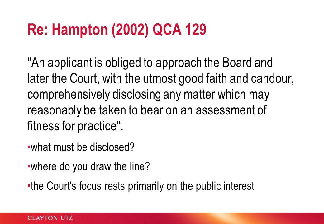 Re: Hampton (2002) QCA 129