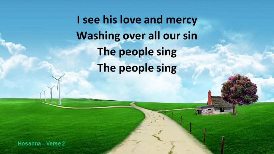 Washing over all our sin