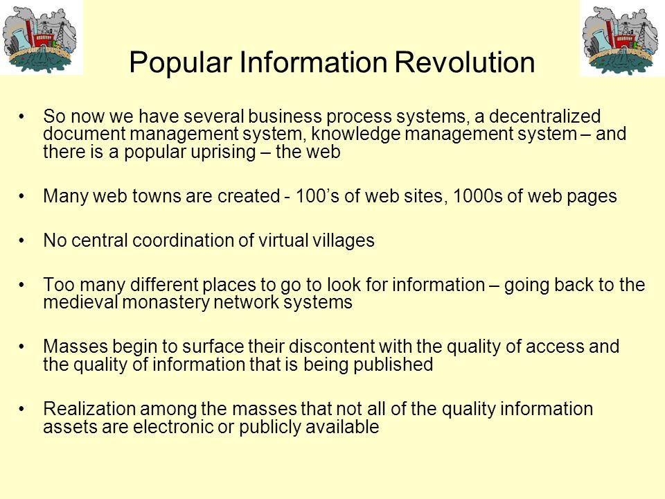 Popular Information Revolution
