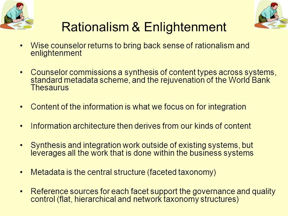 Rationalism & Enlightenment