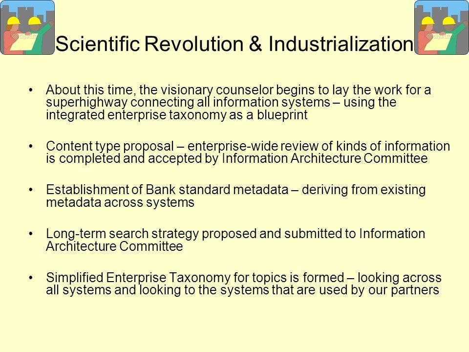 Scientific Revolution & Industrialization