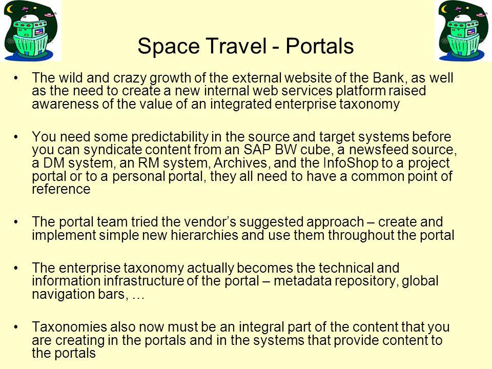 Space Travel - Portals