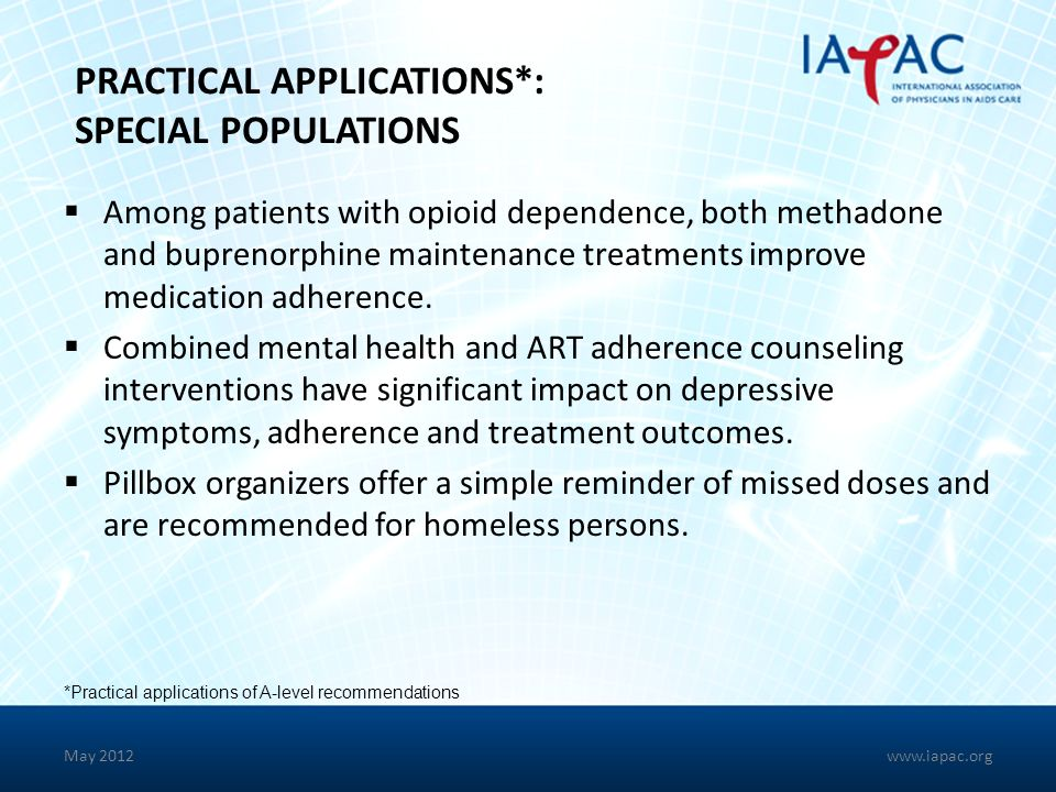 PRACTICAL APPLICATIONS*: SPECIAL POPULATIONS