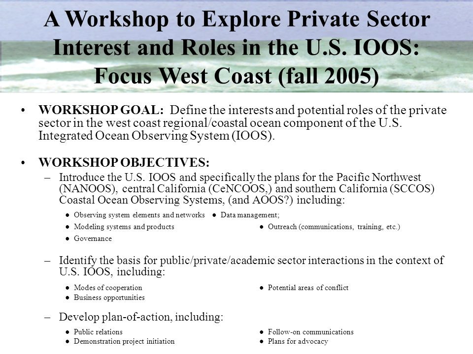 Focus West Coast (fall 2005)