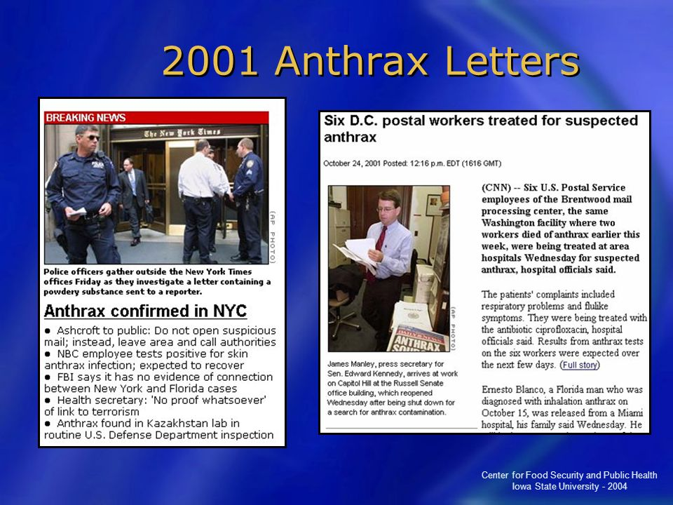 2001 Anthrax Letters