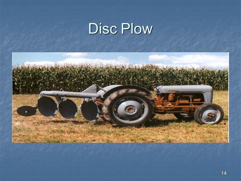 Disc Plow