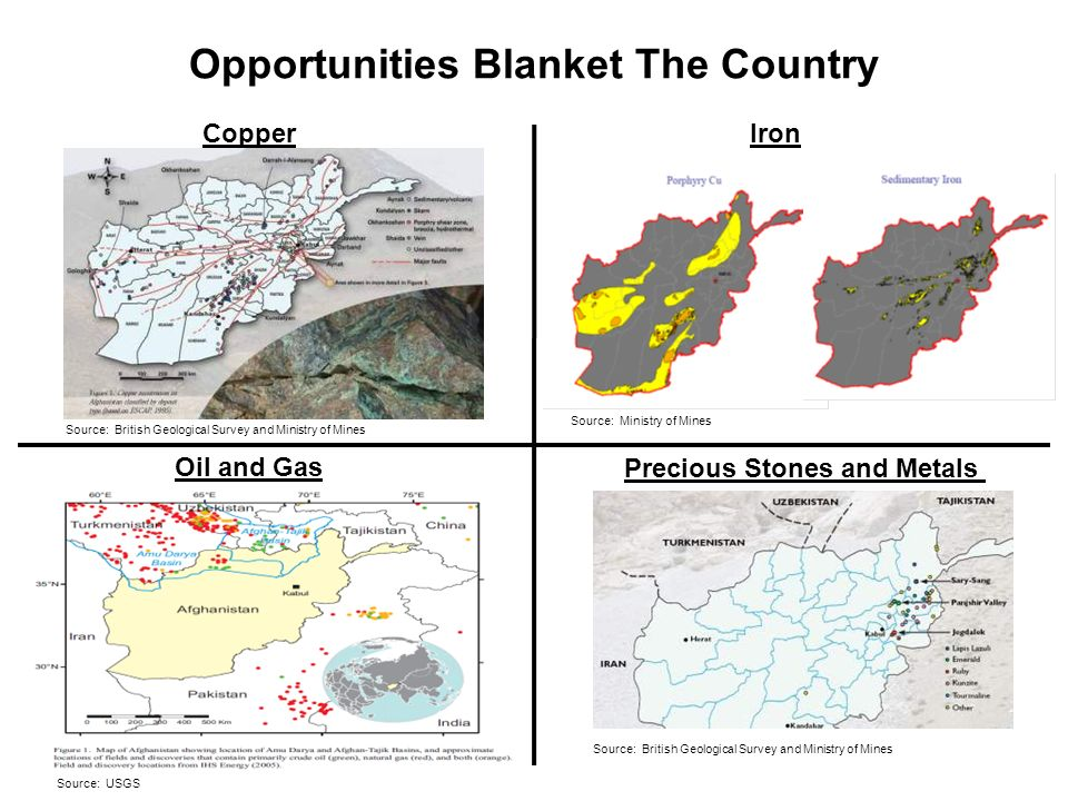 Opportunities Blanket The Country