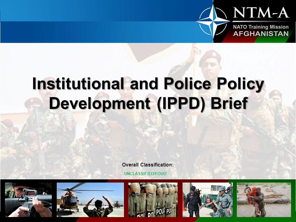 Institutional and Police Policy Development (IPPD) Brief