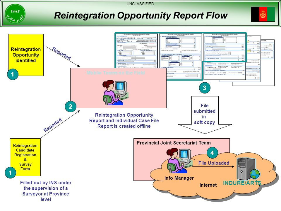 Reintegration Opportunity Report Flow