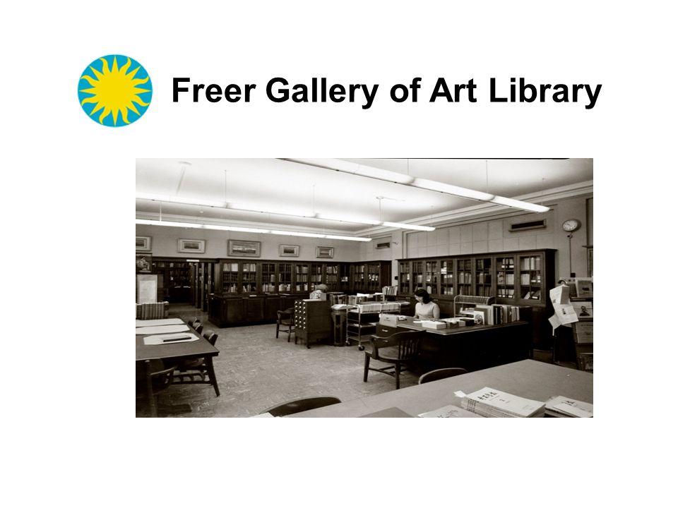 Freer Gallery of Art Library