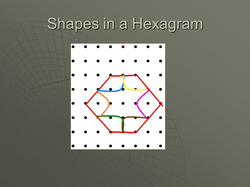 Shapes in a Hexagram