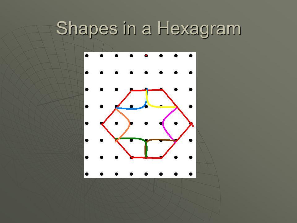 Shapes in a Hexagram