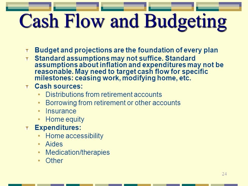 Cash Flow and Budgeting