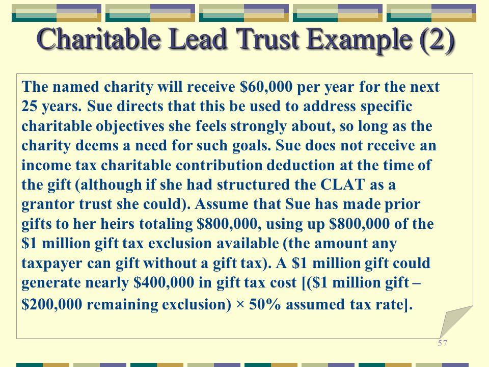 Charitable Lead Trust Example (2)