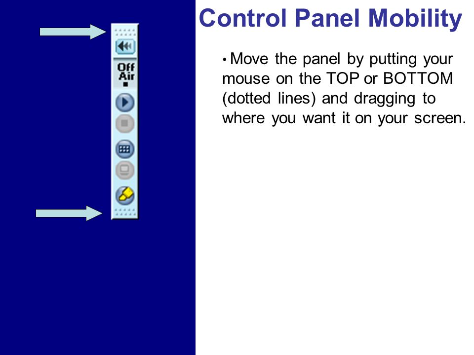 Control Panel Mobility