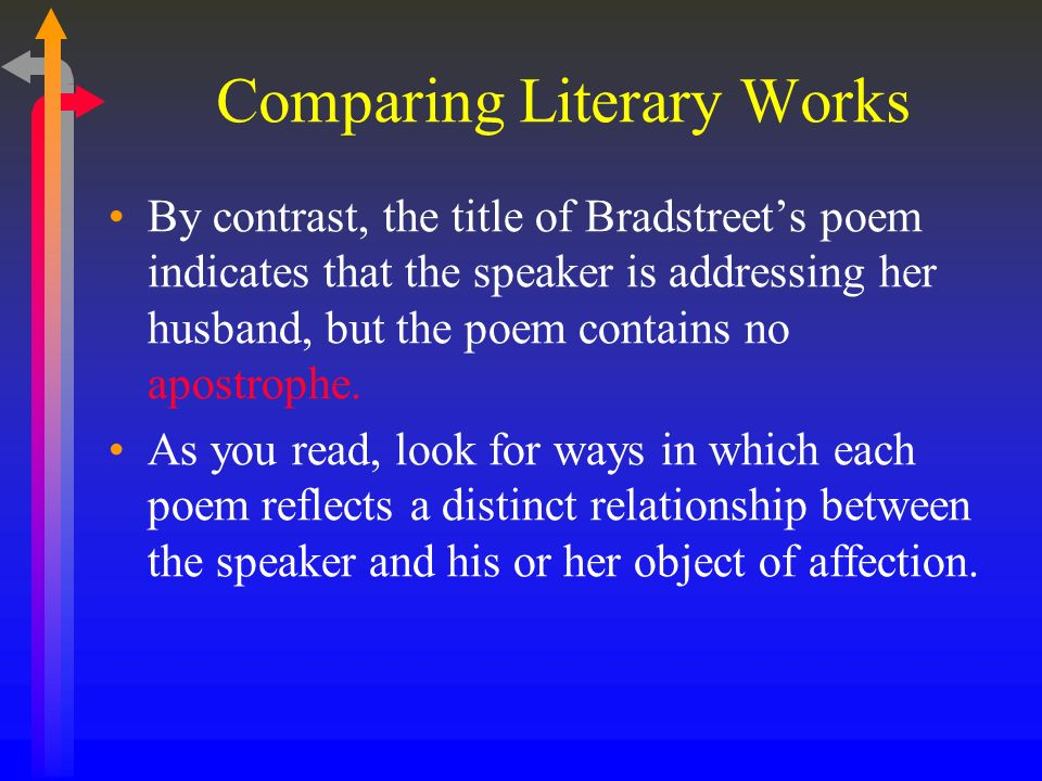 comparing literary works Compare and contrast worksheets being able to compare and contrast is a key critical thinking skills for students these worksheets help students compare and contrast both within texts and among texts.