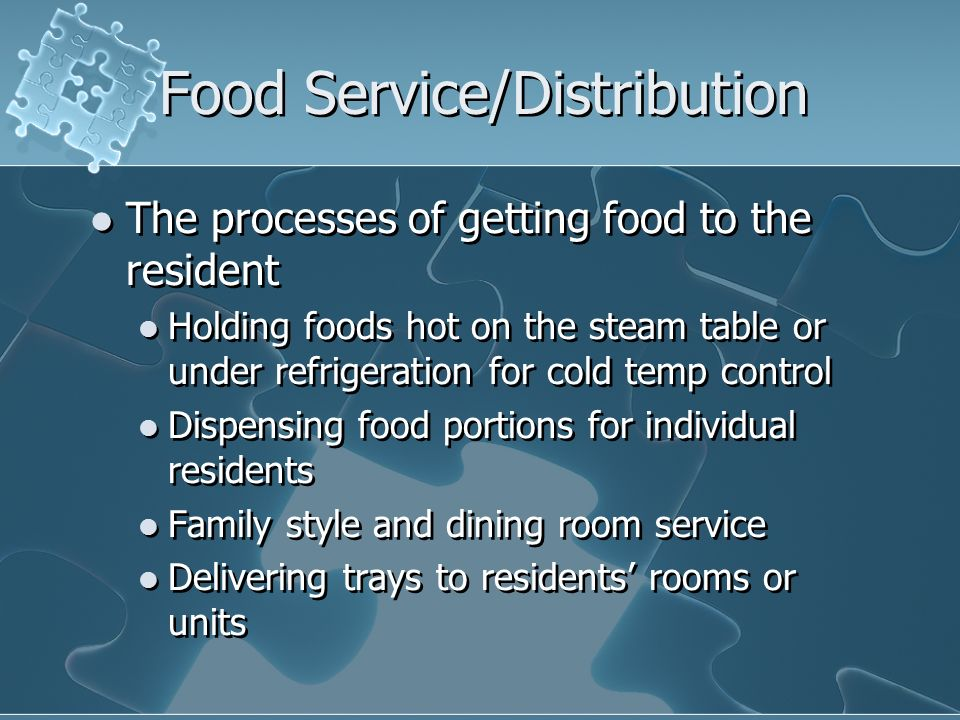 Food Service/Distribution