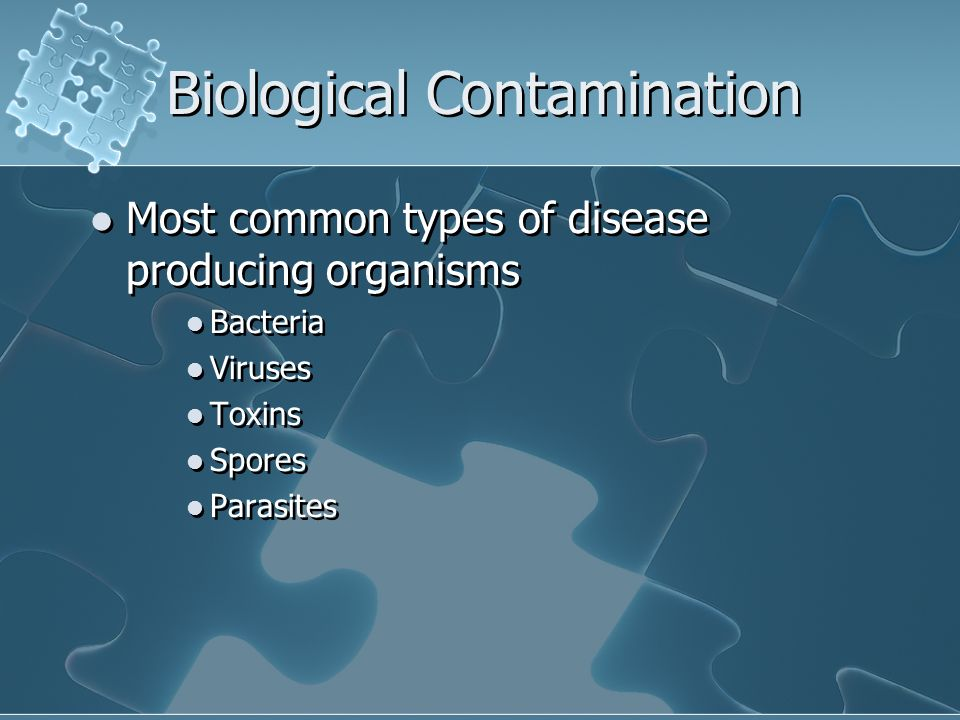 Biological Contamination