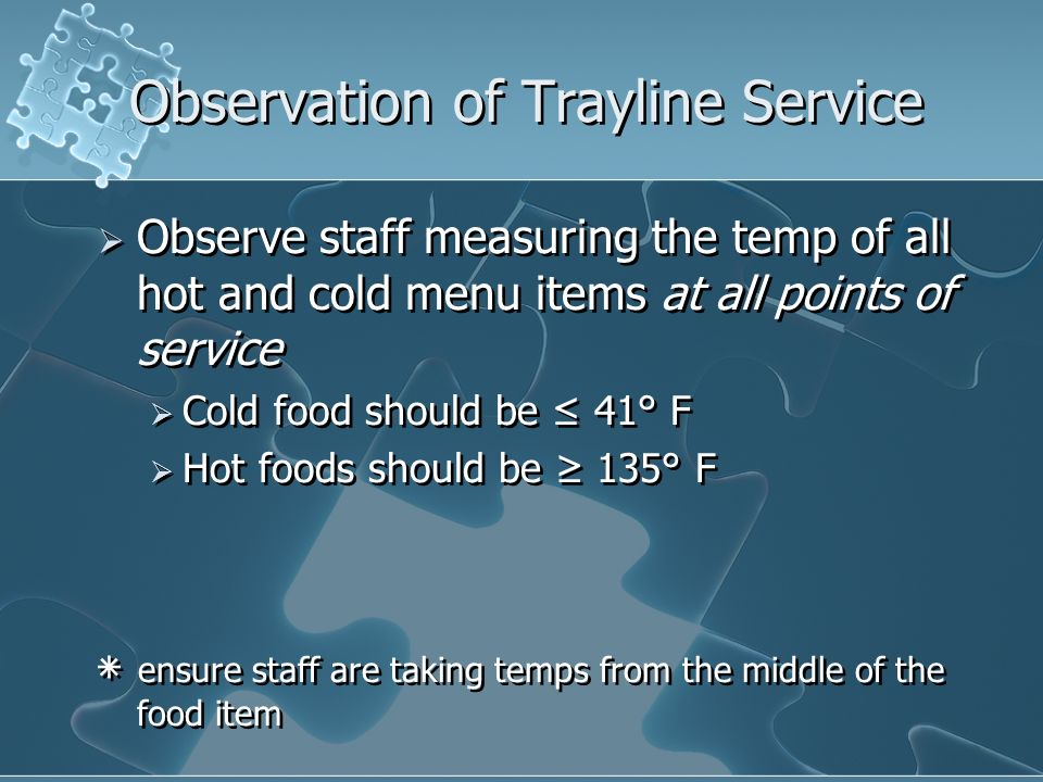 Observation of Trayline Service