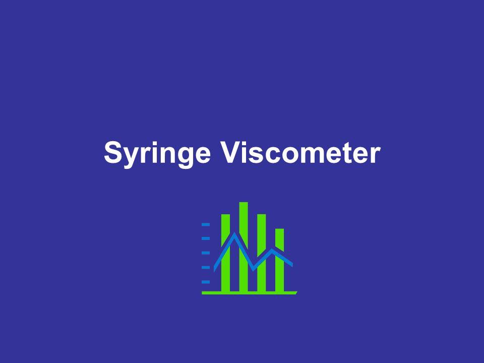 Syringe Viscometer