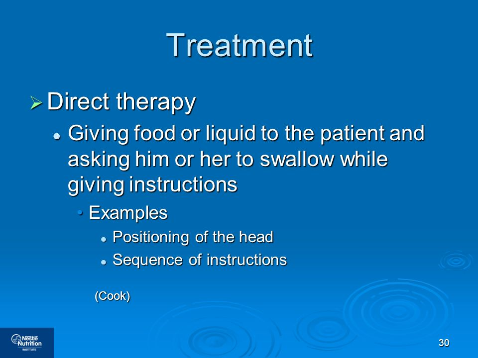 Treatment Direct therapy