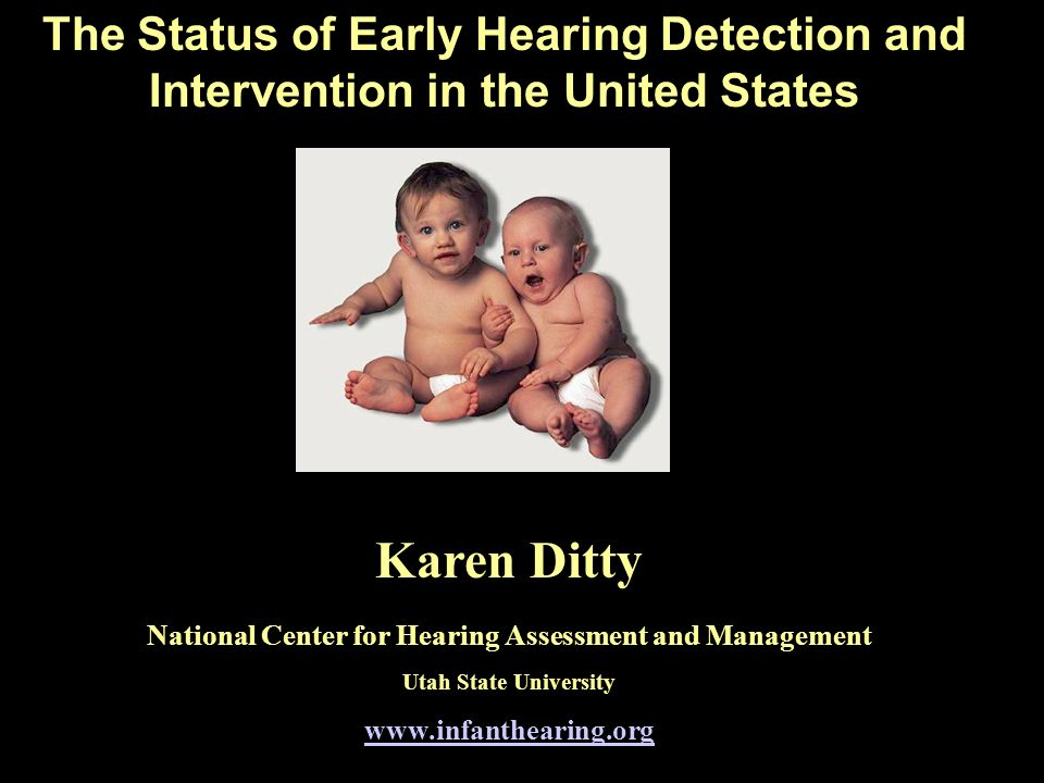 National Center for Hearing Assessment and Management