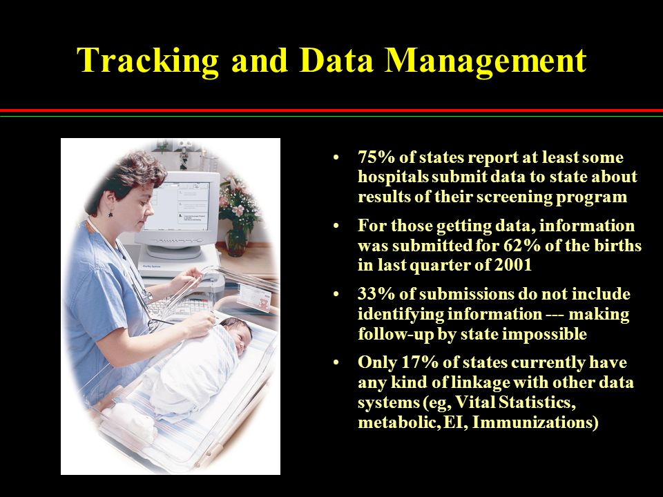 Tracking and Data Management