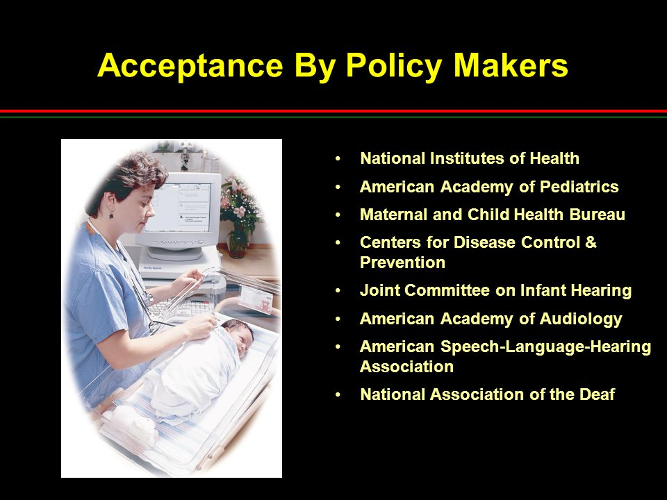 Acceptance By Policy Makers