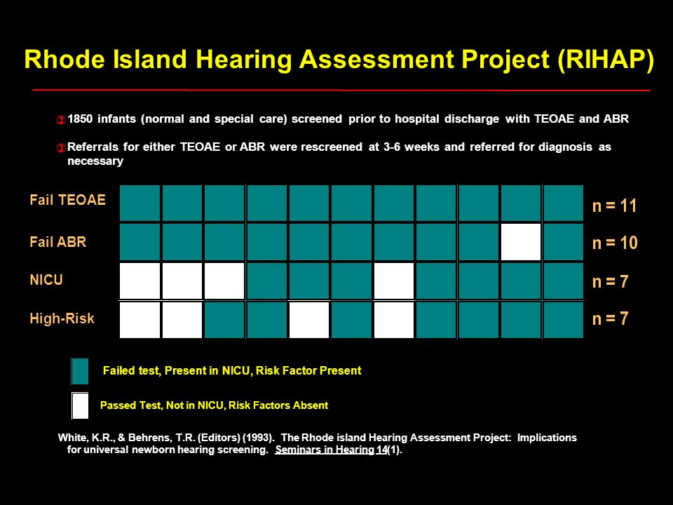 Rhode Island Hearing Assessment Project (RIHAP)