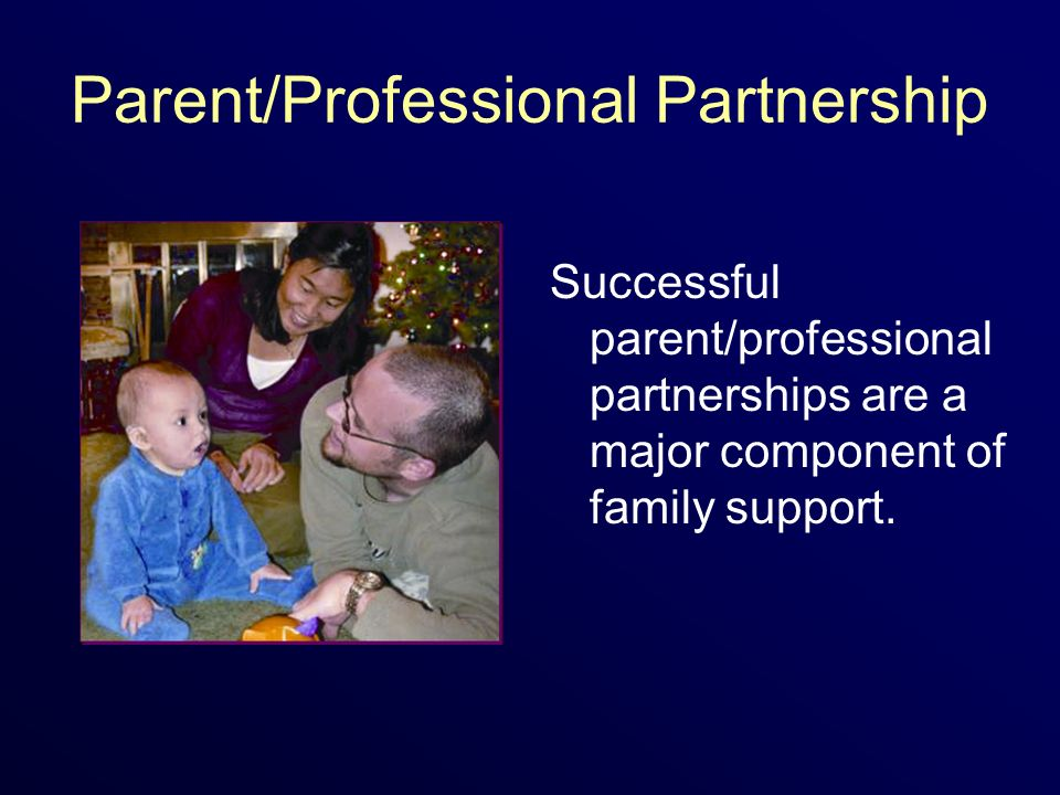 Parent/Professional Partnership