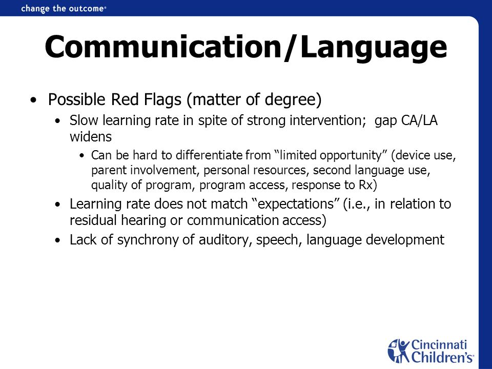 Communication/Language