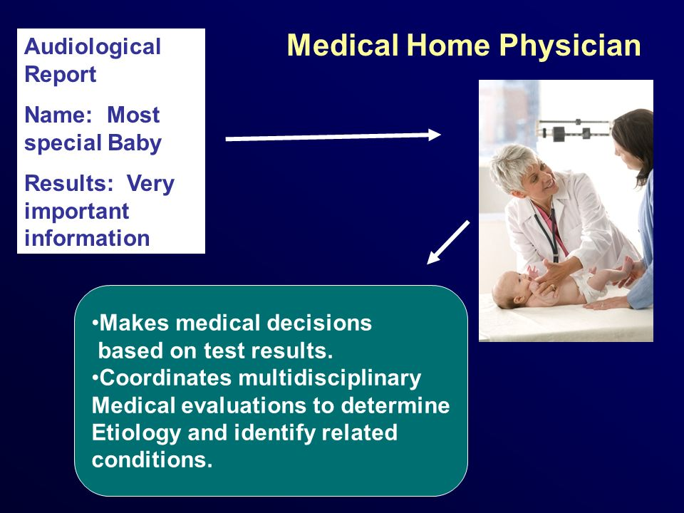 Medical Home Physician