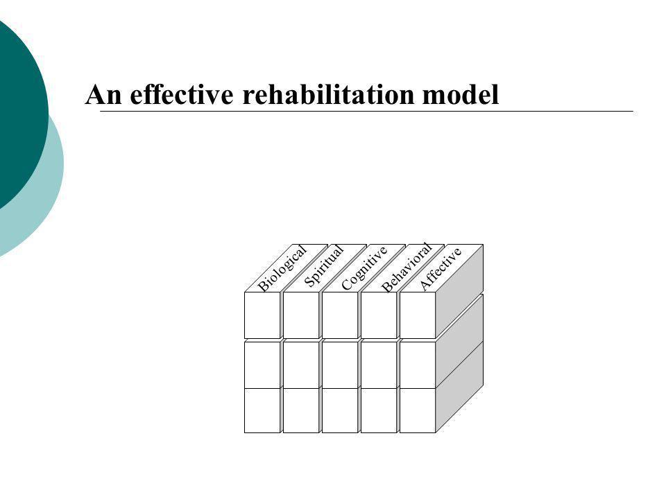 An effective rehabilitation model