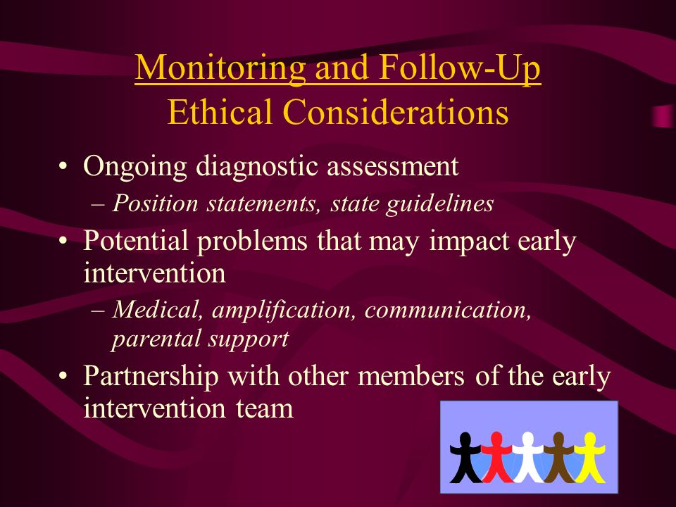 Monitoring and Follow-Up Ethical Considerations