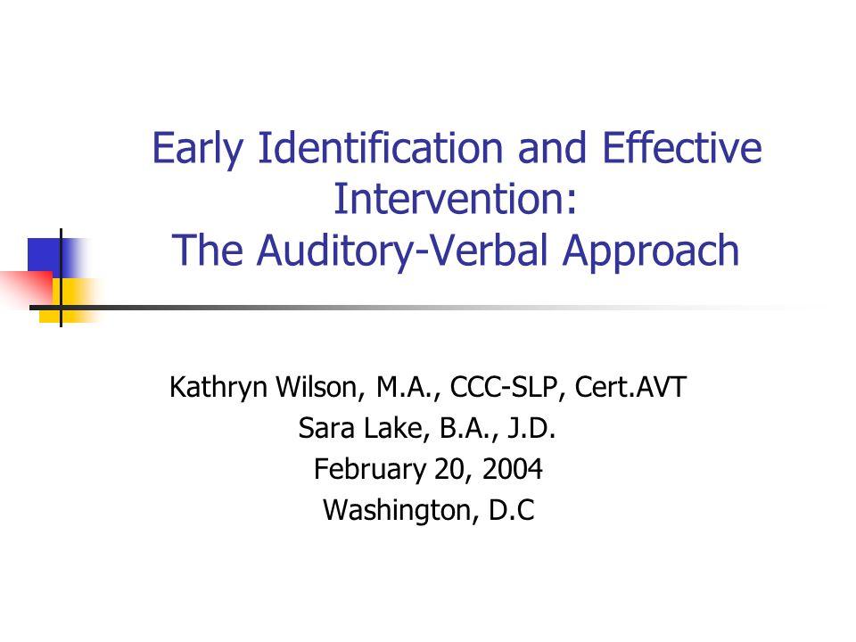 Kathryn Wilson, M.A., CCC-SLP, Cert.AVT