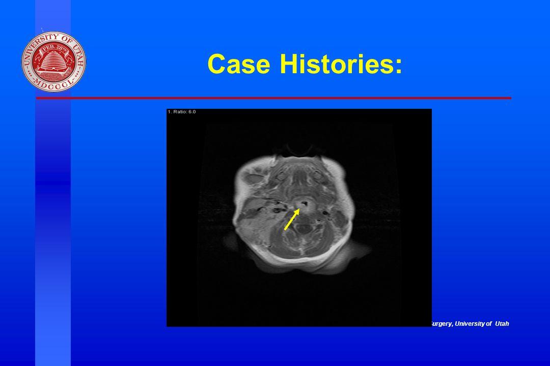 Case Histories: