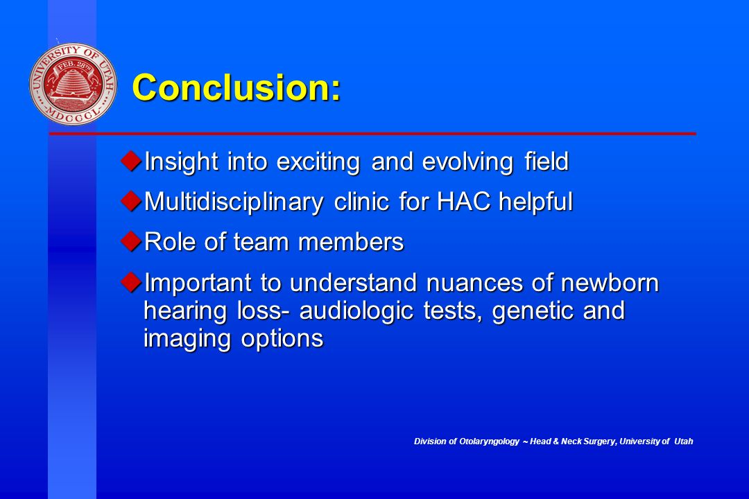 Conclusion: Insight into exciting and evolving field