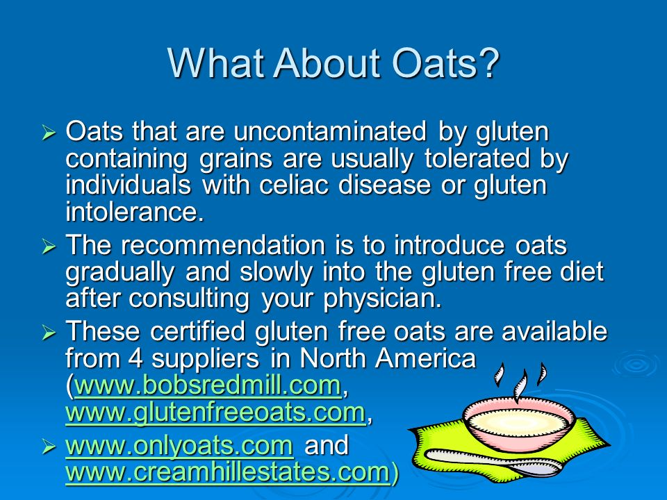What About Oats