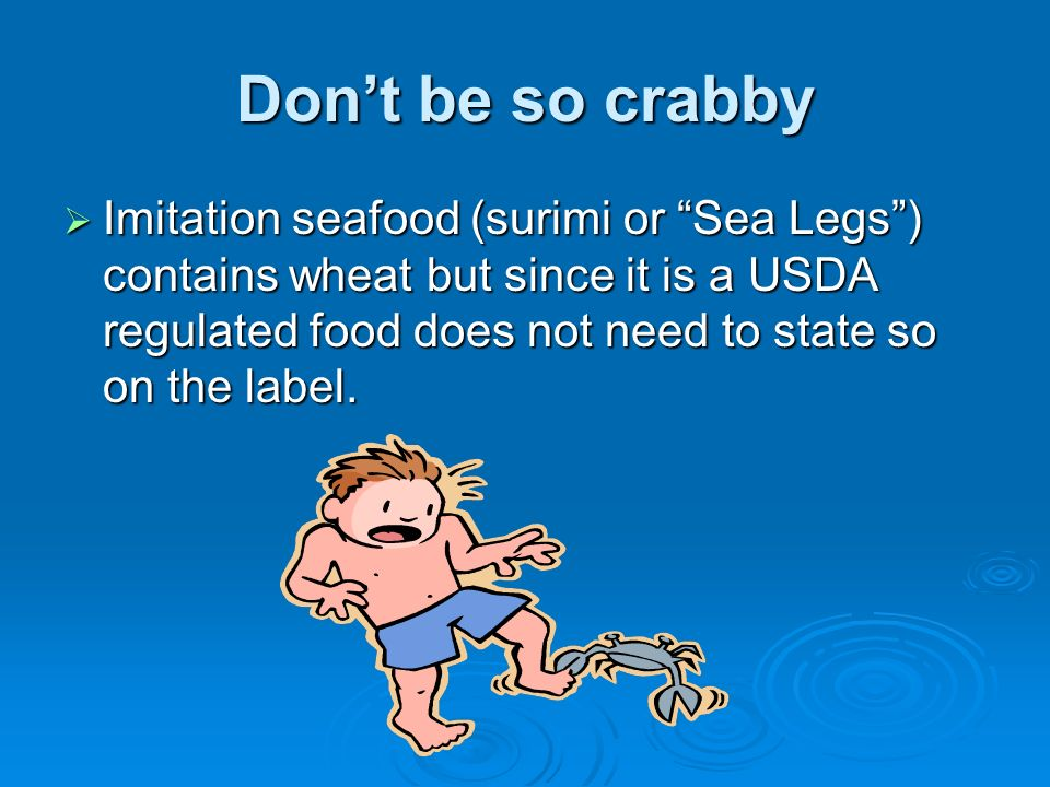 Don't be so crabby