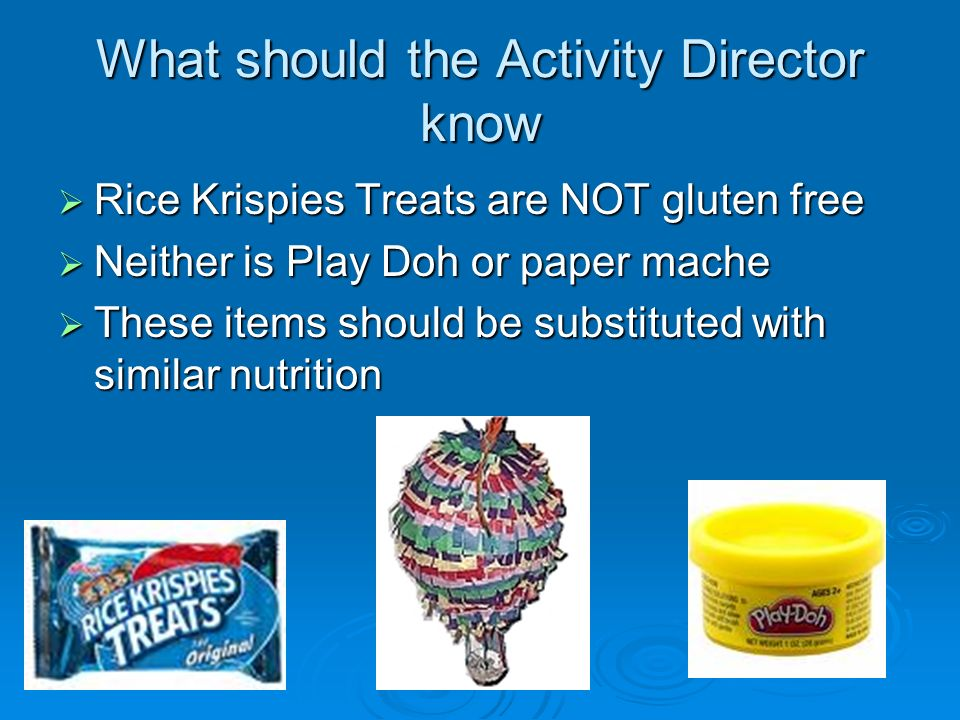 What should the Activity Director know