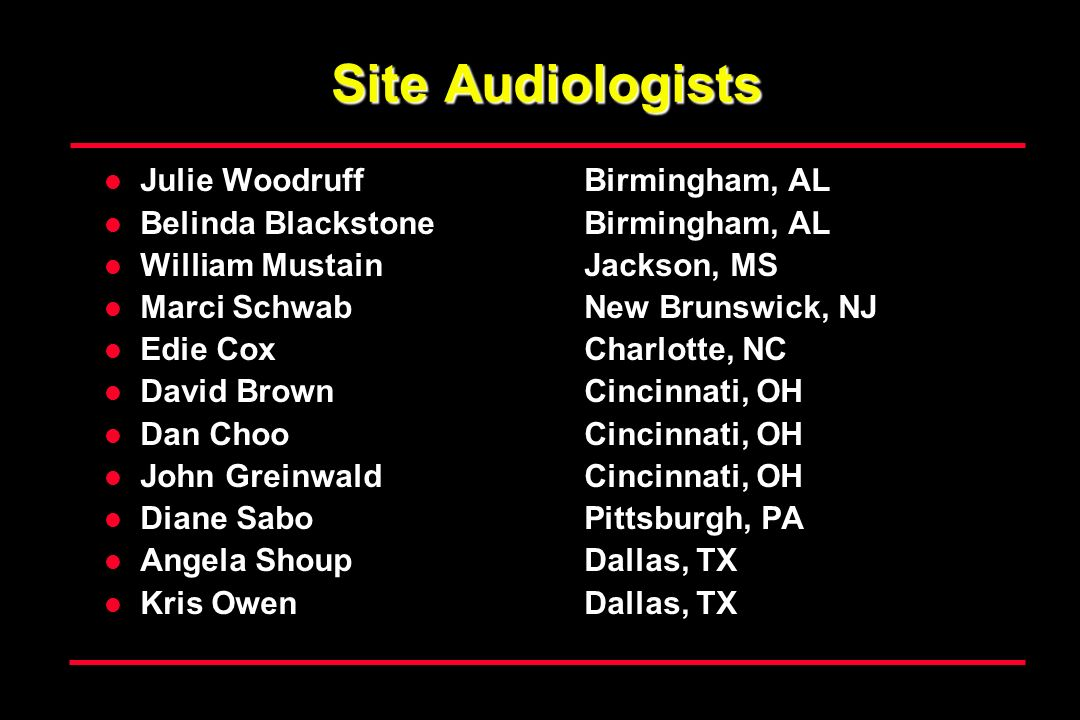 Site Audiologists Julie Woodruff Birmingham, AL