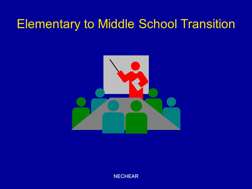 Elementary to Middle School Transition