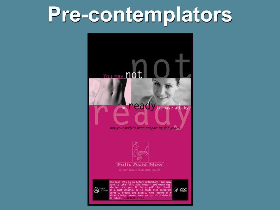 Pre-contemplators