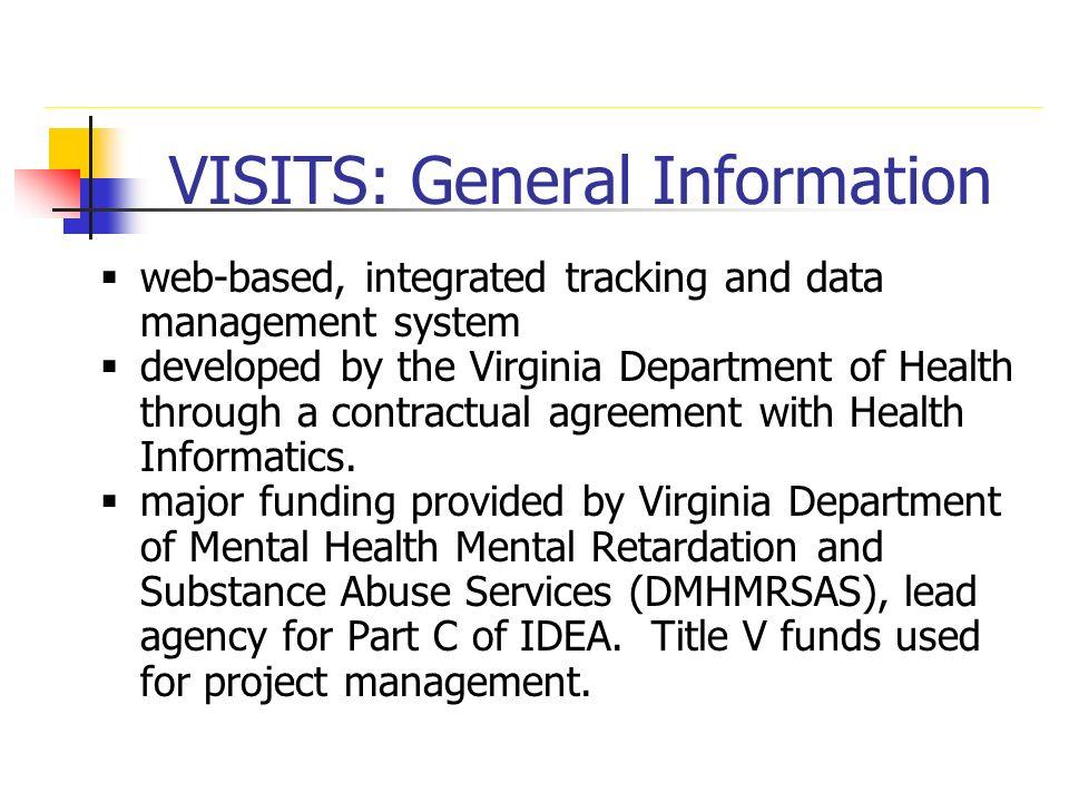 VISITS: General Information