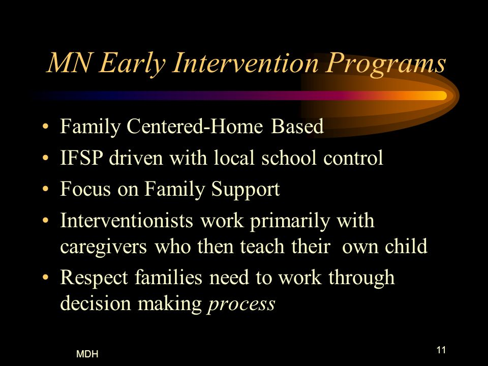 MN Early Intervention Programs