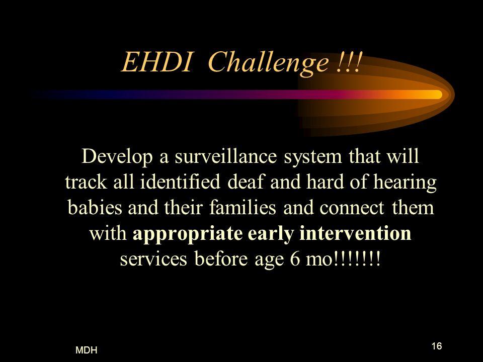 EHDI Challenge !!!