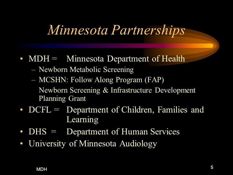Minnesota Partnerships