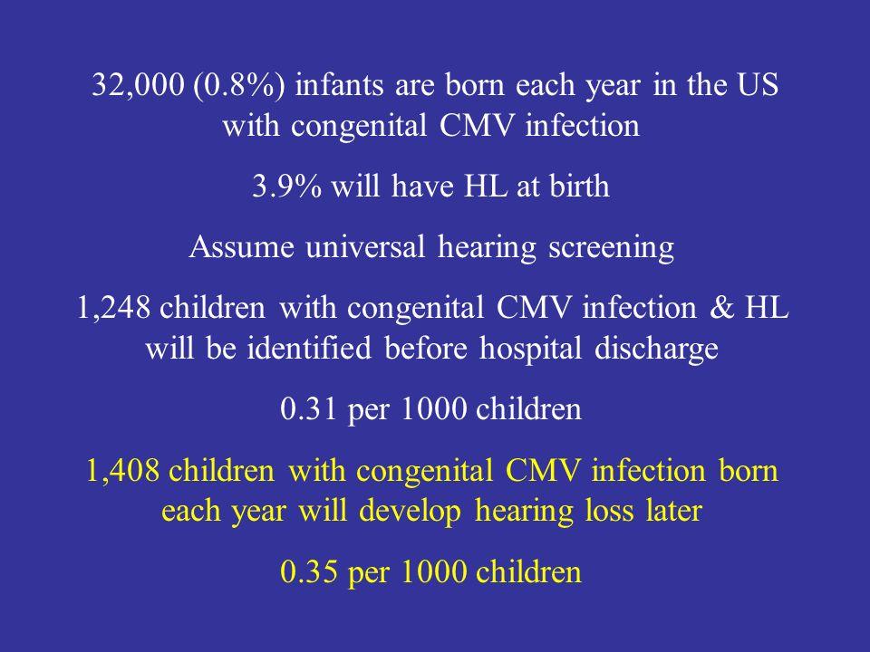 Assume universal hearing screening