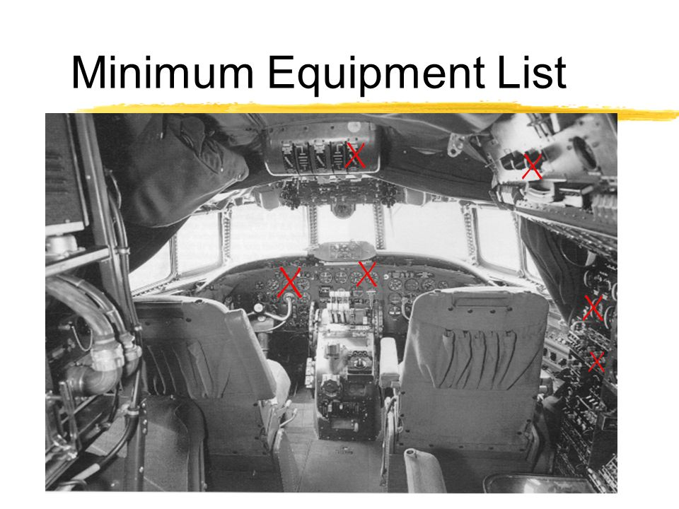 Minimum Equipment List