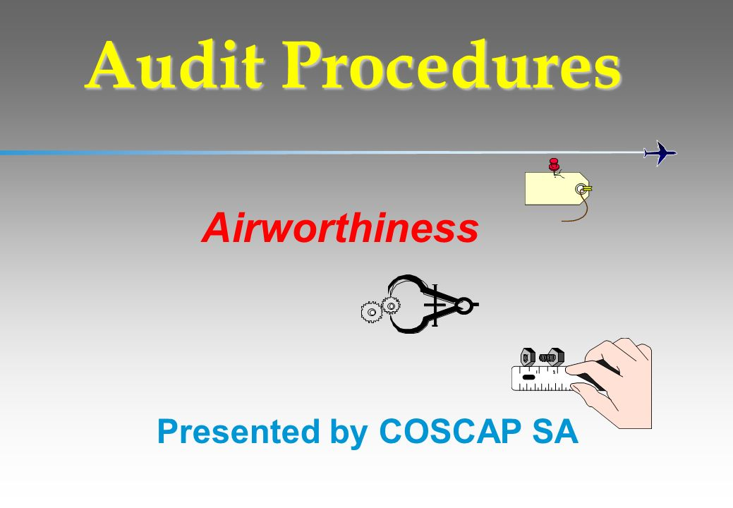 Audit Procedures Airworthiness Presented by COSCAP SA